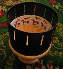 replica of Victorian zoetrope